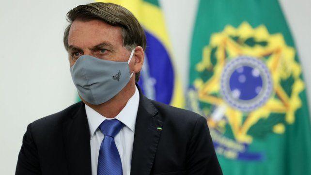 El presidente de Brasil, Jair Bolsonaro, contrajo coronavirus