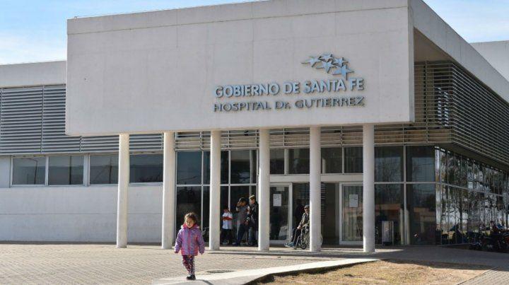 El Hospital Gutiérrez donde cumplen tareas las tres mujeres que tienen coronavirus.