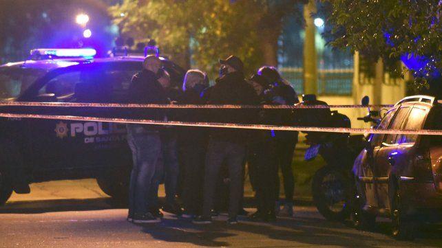 Homicio en Cerrito y Riccheri - Junio 2020  FotoLeonardo Vincenti