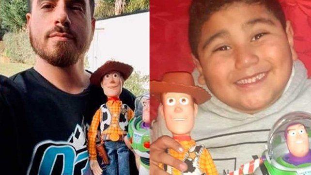 Fede Bal sorprendió al niño que conmovió con un video de cumpleaños