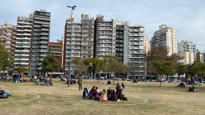 Se amplió la modalidad de los círculos del respeto a otros parques