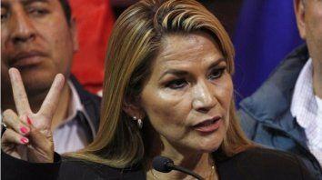 La presidenta de Bolivia tiene coronavirus