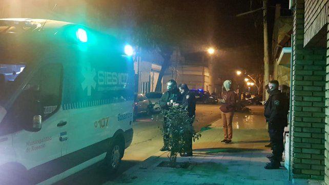 Un joven brasileño fue baleado en un intento de robo en barrio Parque