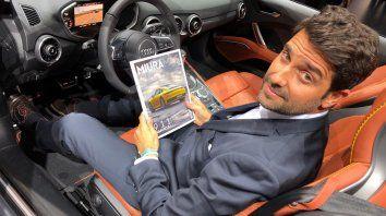 Juan Manuel Díaz, el rosarino de 46 años que siempre dibujó autitos y ahora diseña para Audi.