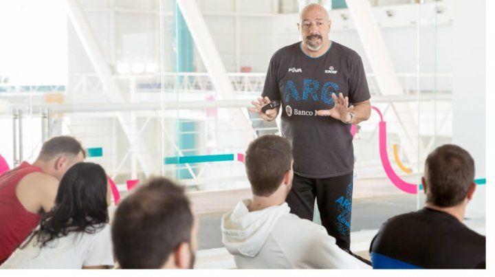 Omar Grasso encabeza la coordinación del plan que busca dar con jóvenes jugadores.