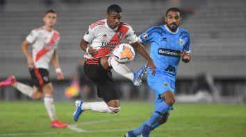 Histórico. En el último partido que jugó por la Libertadores, River recibió a Binacional de Perú en el Monumental y lo goleó 8-0.