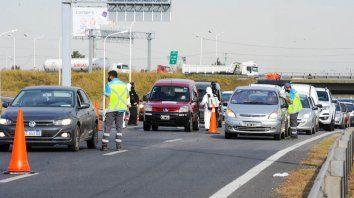 La Agencia de Seguridad Vial reportó más de 300 vehículos regresados a su lugar de origen.