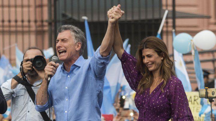 Macri se sostiene en la grieta