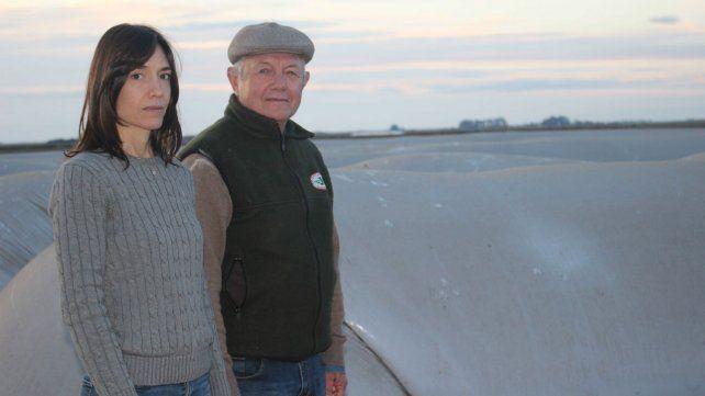 Dos productores agropecuarios de Murphy sufrieron la vandalización de cincos silobolsas