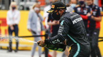 Hamilton dominó en Austria y se quedó con el Gran Premio de Estiria