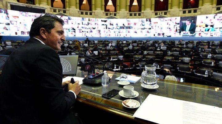 Alberto Fernández, Massa y diputados opositores debaten sobre el país pospandemia
