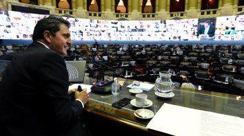 Alberto, Massa y diputados opositores debaten sobre el país pospandemia