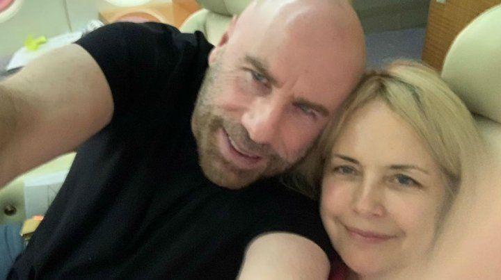 Juntos. Kelly luchó con fuerza contra el cáncer