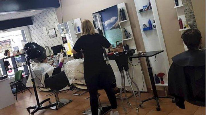 Las peluquerías no son focos de contagio