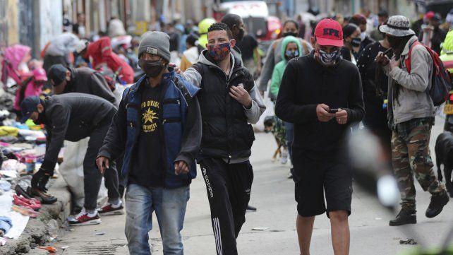 En cuarentena. Los ciudadanos de Bogotá deberán cumplirla ante el brote del virus.