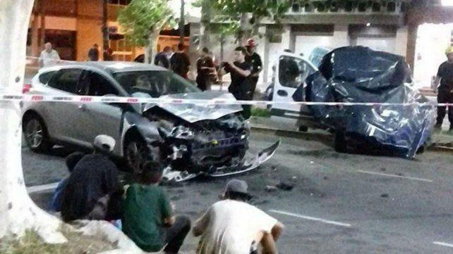 El joven de 23 años manejaba el Focus que impactó a gran velocidad el utilitario que conducía Fabián Cragnolino y murió producto del violento choque.