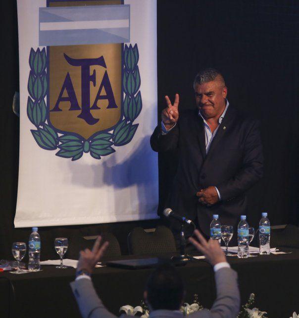 El presidente de la AFA