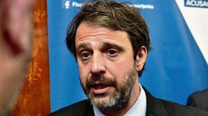 """Fiscal. Miguel Moreno había pedido 35 años de cárcel para """"Willy"""" Luna."""