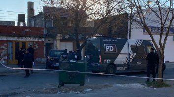 Trasante fue asesinado de por lo menos dos disparos frente a su familia