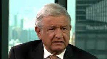 López Obrador arrancó un periplo por la ruta de la muerte