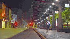 Desoladas. Las calles seguirán sin la presencia de ómnibus, como desde hace 14 días ininterrumpidos. El paro es por tiempo indeterminado.