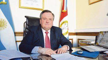 Preocupación. Michlig plantea que el gobierno provincial descuida la economía.