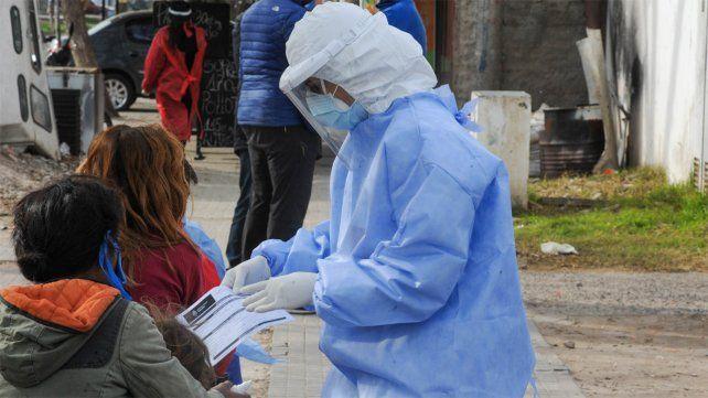 La provincia tuvo ayer un récord de casos de coronavirus.