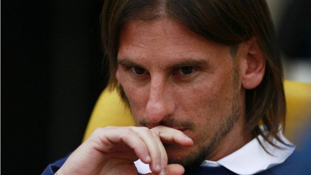 Sebastián Beccacece, el técnico de Racing, que admitió que sus jugadores entrenaban en Rosario, su ciudad.