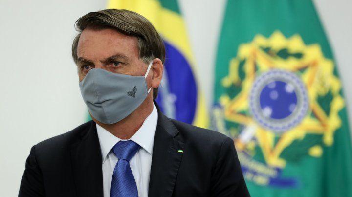 Bolsonaro se sometió a otro examen y nuevamente dio positivo de coronavirus
