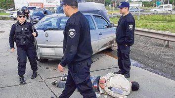 Condenados tras caer presos en el sepelio de un policía