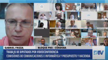 El pasado 19 de mayo el titular del Ministerio de Desarrollo Productivo se entrevistó con los legisladores a través de videoconferencia.