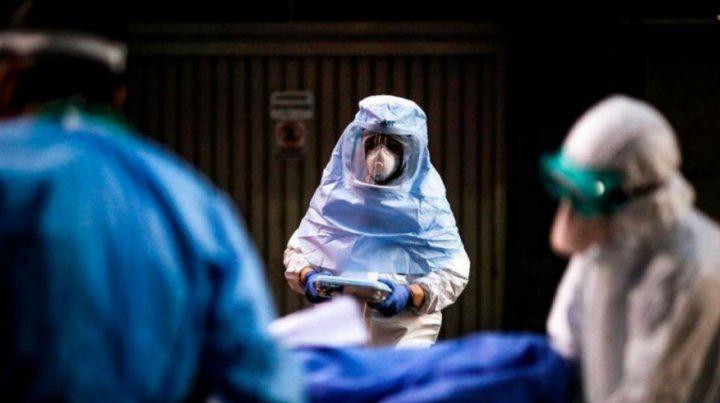 En las últimas horas Argentina tiene 793 casos de pacientes en terapia por coronavirus.