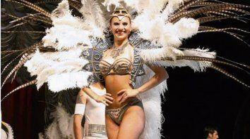 La diva del circo. Cristal, esposa del creador y primera bailarina.
