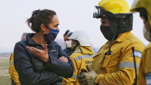 Gonnet: La Justicia Federal debe garantizar el cumplimiento de la cautelar que prohíbe la quema en las islas