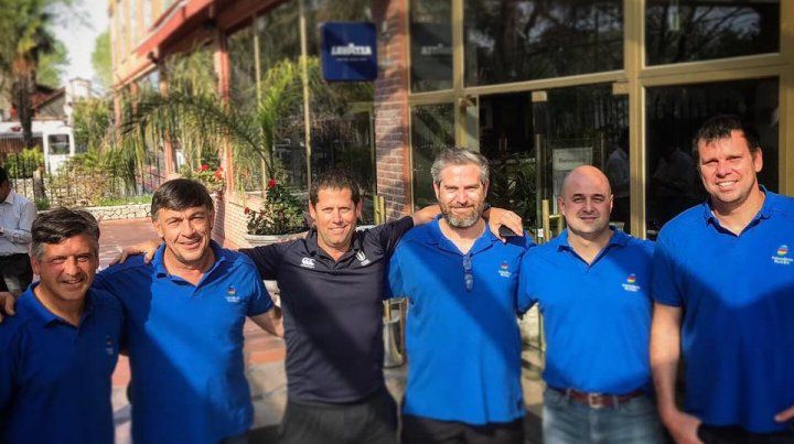 Staff de Sudamerica Rugby. Del Castillo