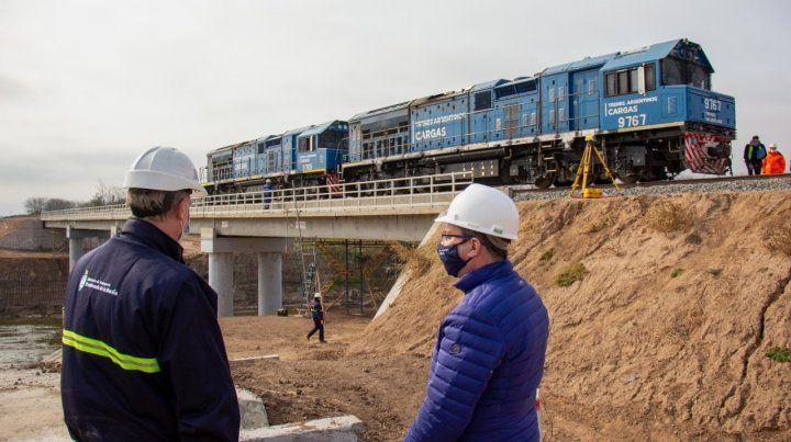 Un paso más para el transporte ferroviario en el Cordón