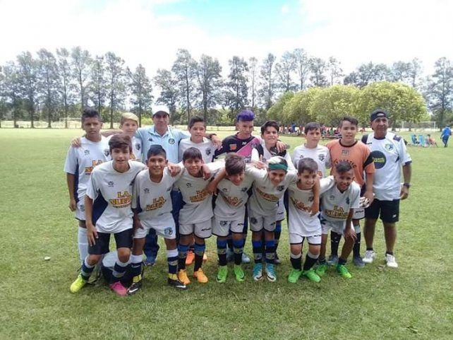 Categoría  2005. Los tigres conducidos por Atilio y Enrique  en el torneo 2018.