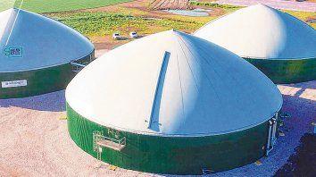 Biodigestor. Adecoagro transforma el estiércol de los tambos en biogás, electricidad y biofertilizantes.