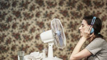 en escena. María Marull, melliza de Paula, es una de las protagonistas de Yo no duermo la siesta.