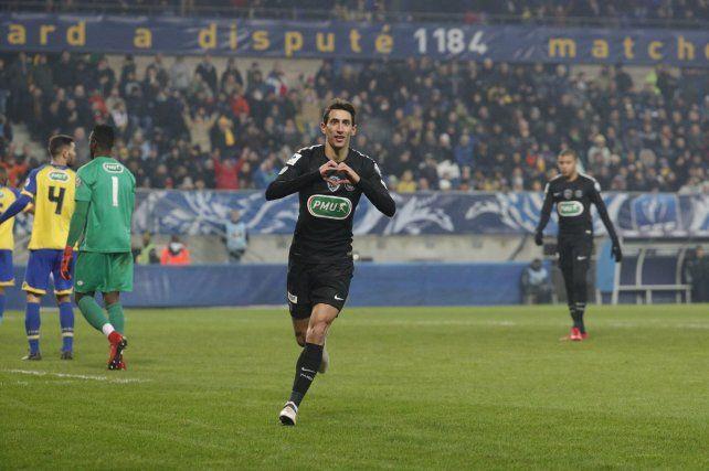 Angel Di María acaba de ser campeón en el fútbol francés y el Kily sueña.