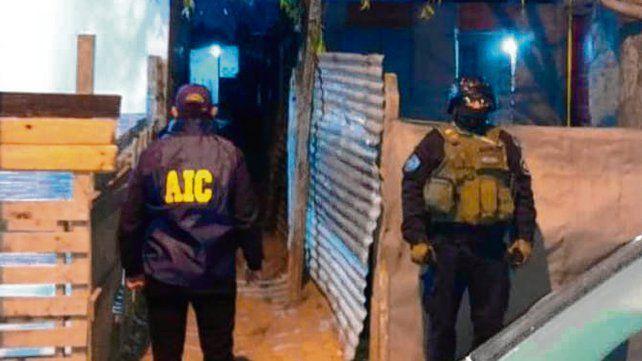 """Atrapado. """"Milanesa"""" fue detenido por la división Homicidios de la AIC."""