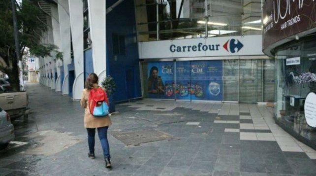 La semana pasada el supermercado de calle Pueyrredón tuvo el primer caso de coronavirus.