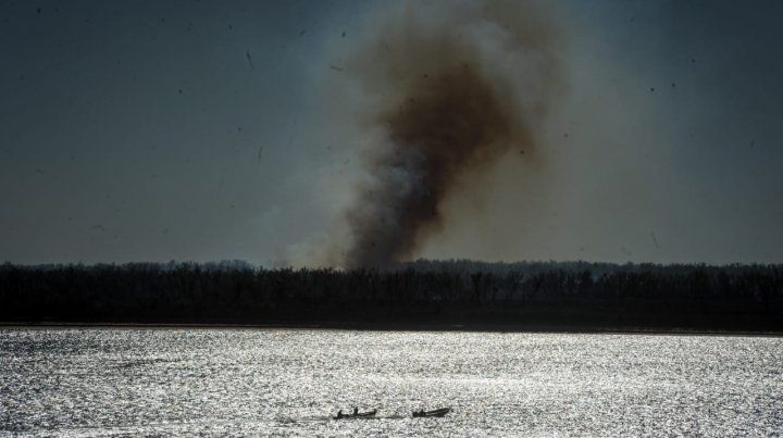 Piden la detención de dueños de lotes donde se producen las quemas de las islas