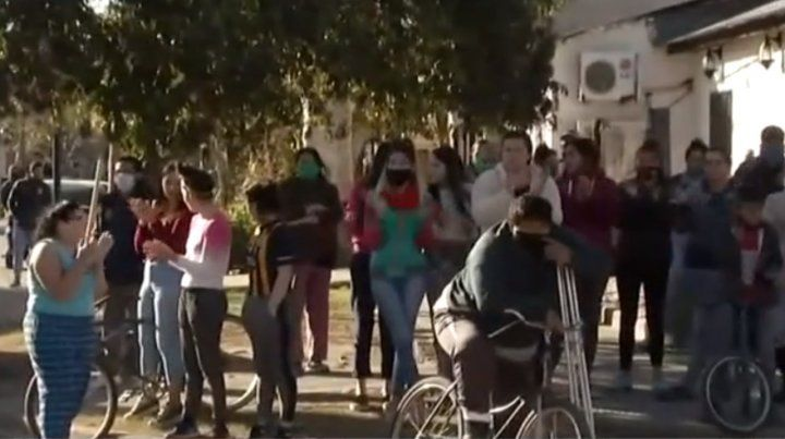Cuatro detenidos en una protesta en barrio Godoy contra un supuesto violador
