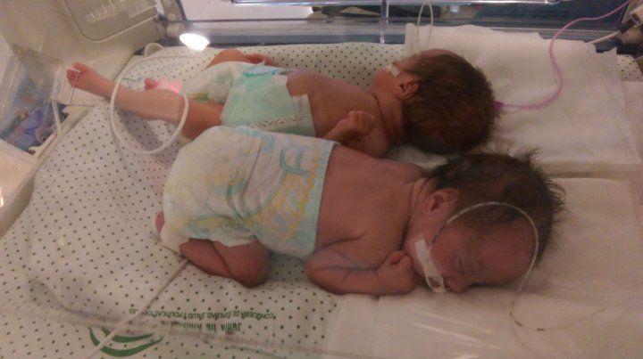 La mamá de las mellizas inició los trabajos de parto en Cañada Rosquín.