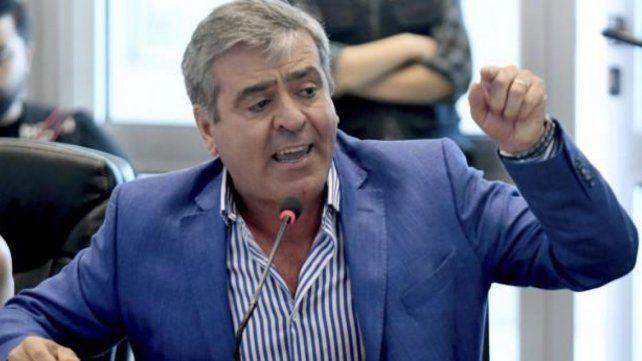 El presidente de la comisión de Transporte de Diputados