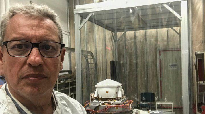 Un rosarino controlará el instrumental científico de la misión de la Nasa a Marte