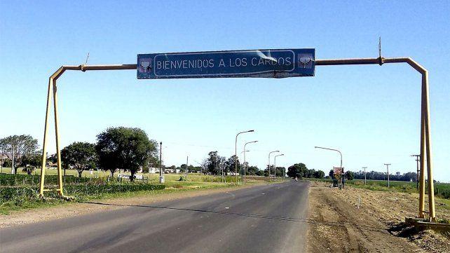 La localidadse encuentra a 140 kilómetros de Rosario.