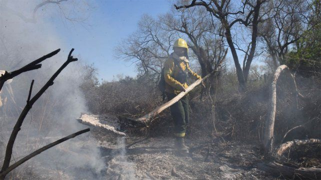 Yo también soy perjudicado por las quemas, dijo uno de los dueños de campos imputado
