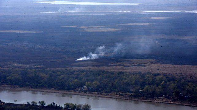 Desde Defensa Civil denuncian que se registran nuevos incendios en las islas